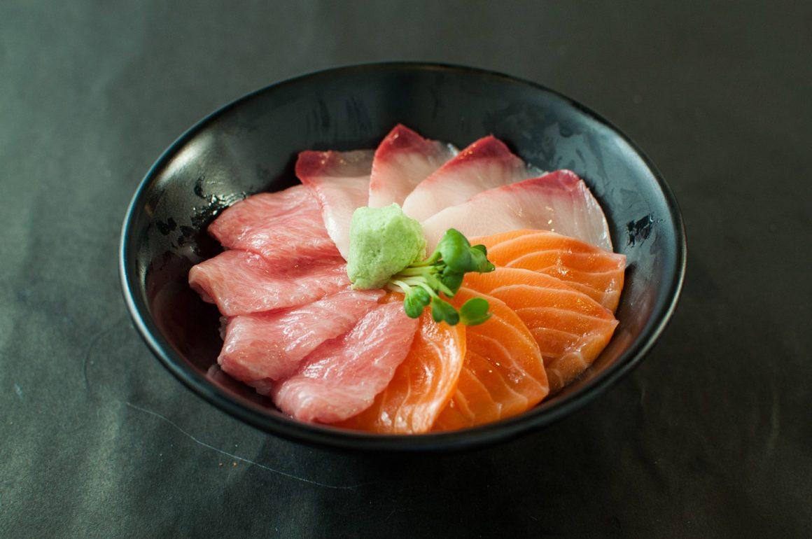 Masu – Trout Fish Shushi with Topping
